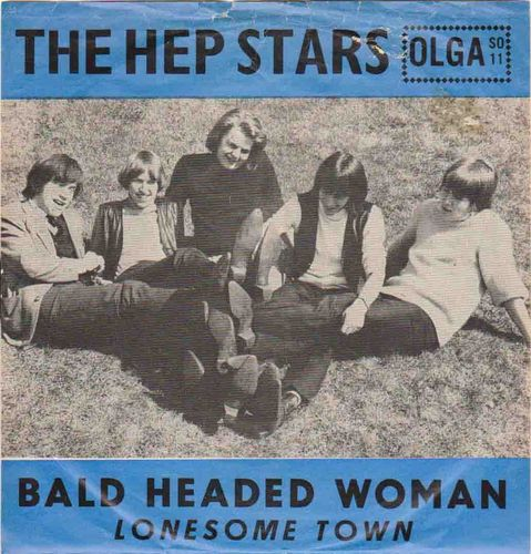 "Hep Stars : Bald Headed Woman 7"" (Käyt. single)"