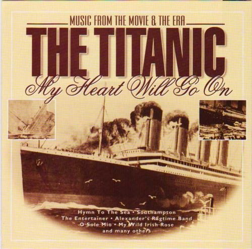 V/A: The Titanic - Music from the Movie & The Era CD (Käyt)