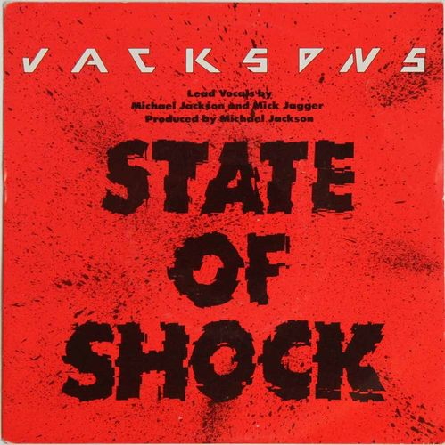 Jacksons : State Of Shock (Käytetty single)