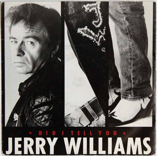 Jerry Williams : Did I Tell You (Käytetty single)
