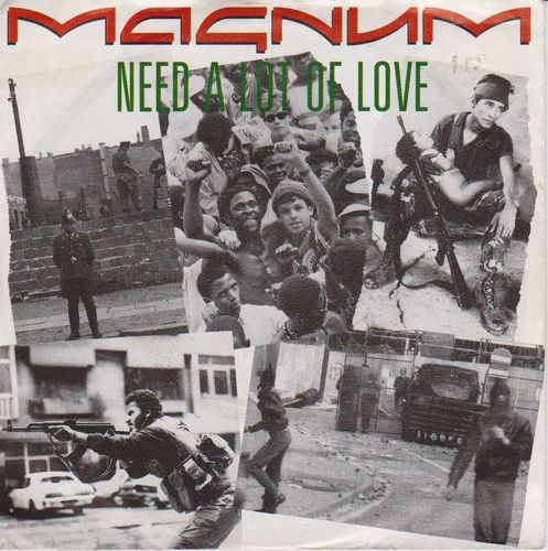 "Magnum : Need A Lot Of Love 7"" (Käyt Single)"