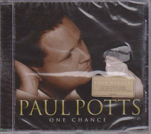 Paul Potts : One Chance CD