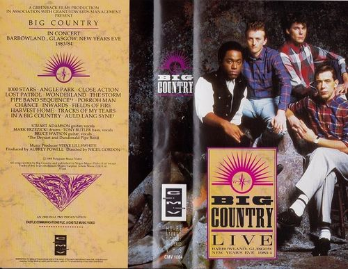 Big Country : Live VHS