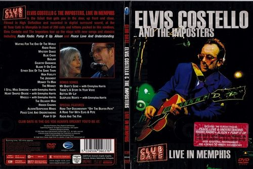 Elvis Costello & The Imposters : Live In Memphis