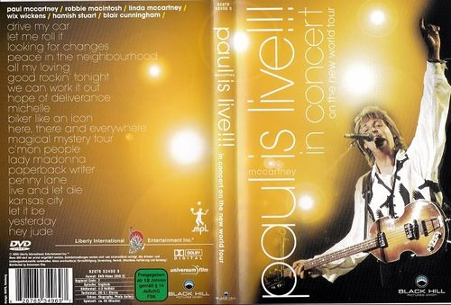 Paul McCartney : Paul Is Live DVD