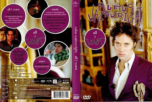 Rufus Wainwright : All I Want DVD