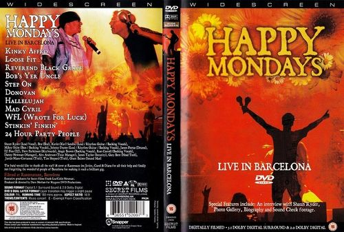 Happy Mondays : Live In Barcelona DVD