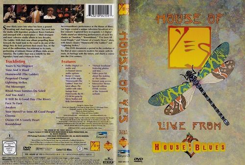 Yes : House Of Yes: Live From House Of Blues