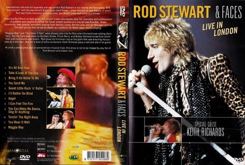 Rod Stewart & Faces : Live In London DVD