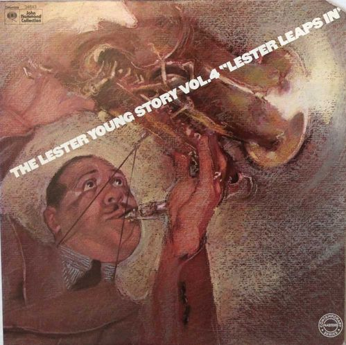 "Lester Young : The Lester Young Story Vol.4 ""Lester Leaps In"" 2LP"