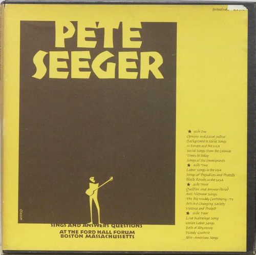 Pete Seeger ‎: Sings And Answers Questions 2LP Box