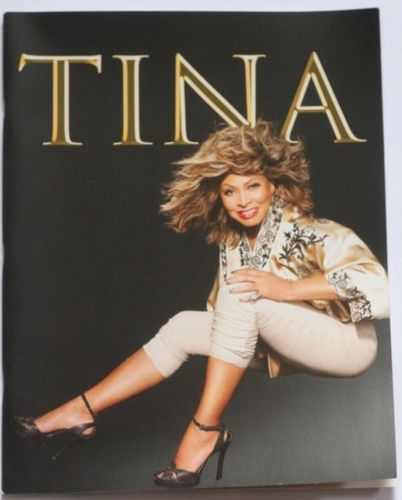 Tina Turner : 50 th Anniversary Tour Europe 2009 Program