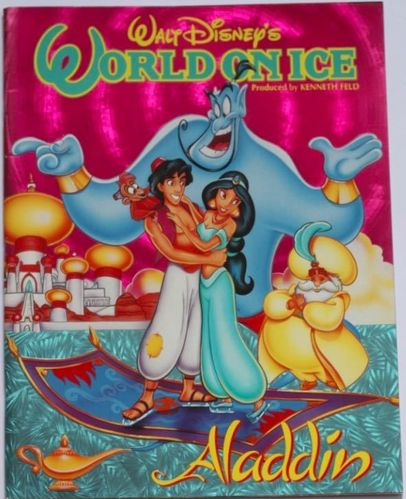 Walt Disney's World On Ice : Aladdin Program (suomenkielinen)