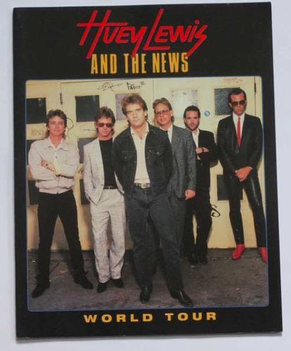 Huey Lewis And The News : World Tour