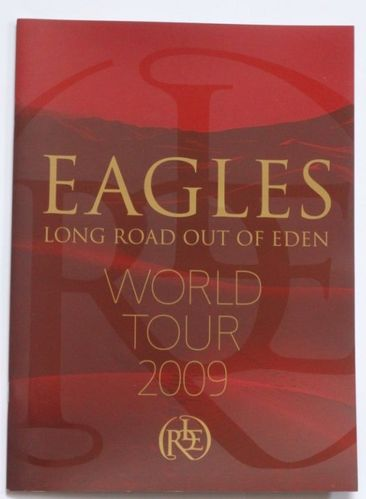 Eagles : Long Road Out of Eden World Tour 2009 Program