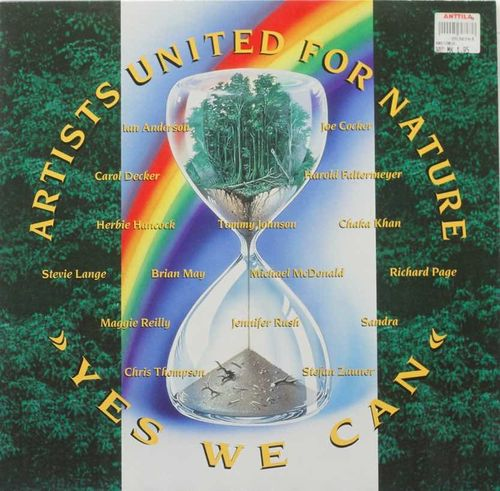 Artists United For Nature : Yes We Can 12""