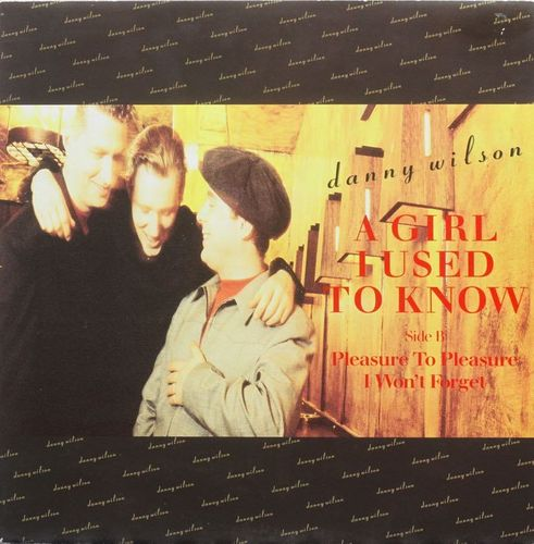 "Danny Wilson : A Girl I Used To Know 12"" (Käytetty)"