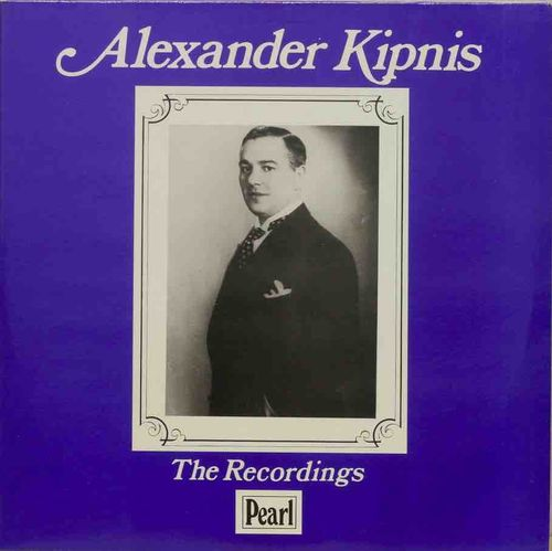 Alexander Kipnis : The Recordings 2LP