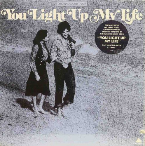 Joe Brooks : You Light Up My Life LP (Käytetty)