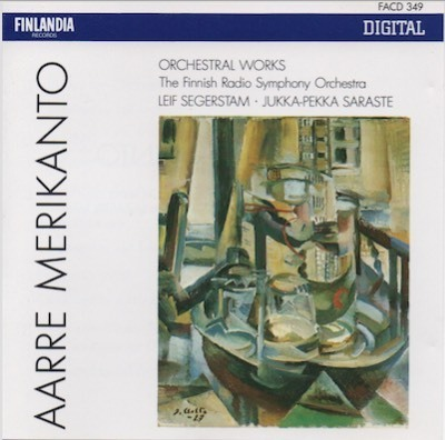 Aarre Merikanto / Finnish Radio Symphony Orchestra / Segerstam / Sarasota : Orchestral Works CD