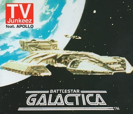 TV Junkeez Feat. Apollo : Battlestar Galactica CDs (Käyt)
