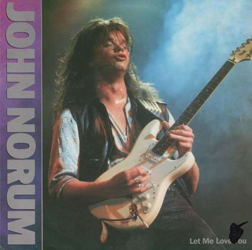 "John Norum : Let Me Love You 7"" Käyt"