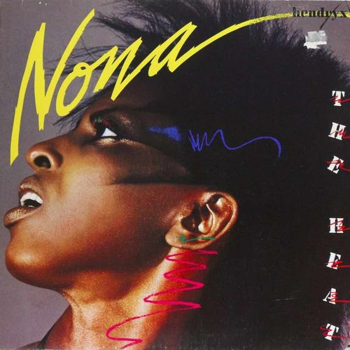 Nona Hendryx : The Heat LP (Käyt)