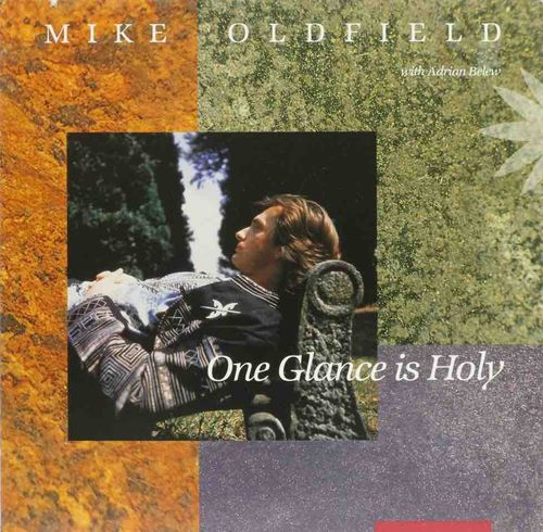 "Mike Oldfield With Adrian Belew : One Glance Is Holy 12"" (Käyt. maxi)"