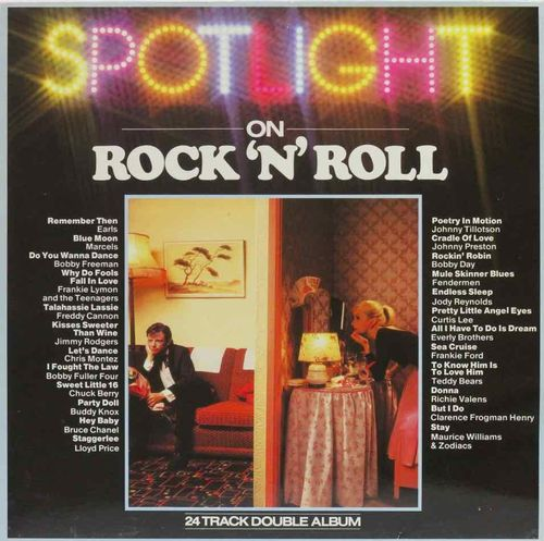 V/A : Spotlight On Rock 'N' Roll 2LP(Käyt)