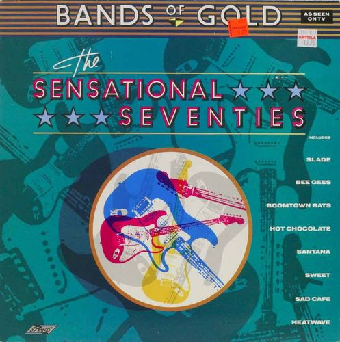 V/A : Bands Of Gold: The Sensational Seventies LP (Käyt)