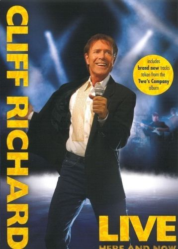 Cliff Richard : Live - Here and Now DVD (Uusi)
