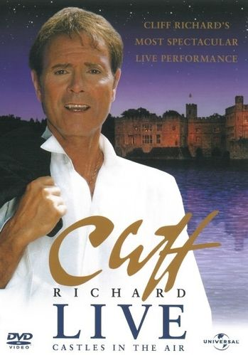 Cliff Richard : Live - Castles In The Air DVD (Uusi)