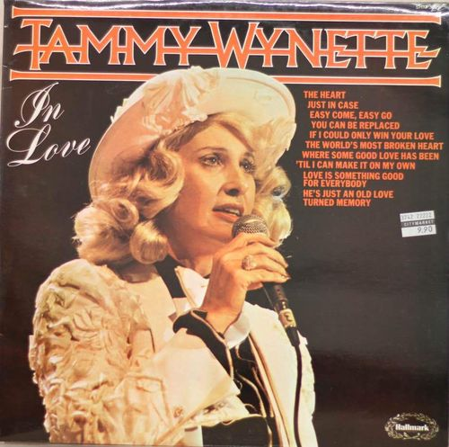 Tammy Wynette : In Love LP (Käyt)