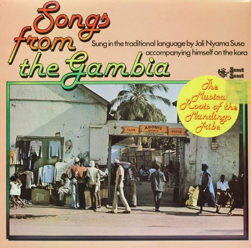 Jali Nyama Suso : Songs From The Gambia LP (Käyt)