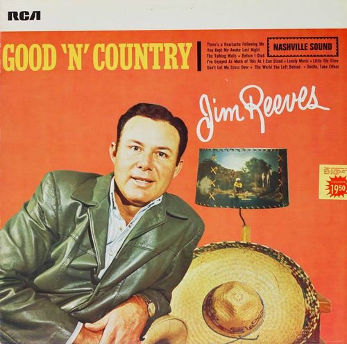 Jim Reeves : Good 'N' Country LP Käyt