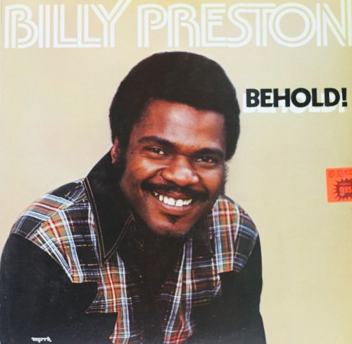 Billy Preston : Behold! LP (Käyt)
