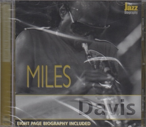 Miles Davis : The Jazz Biography CD (Mint)