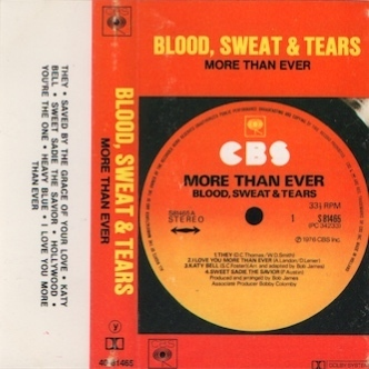 Blood, Sweat & Tears : More Than Ever! MC (Käyt)
