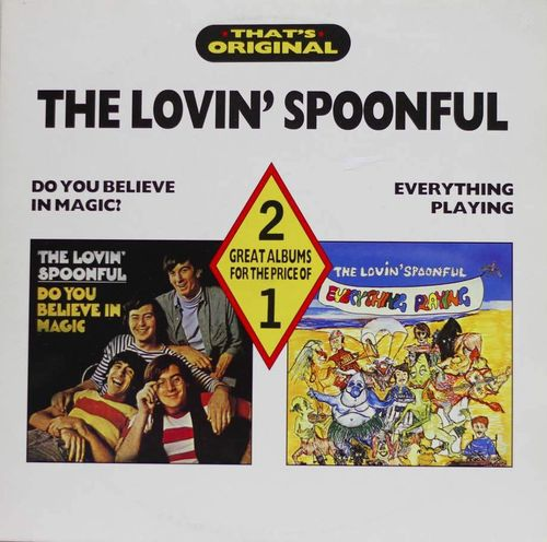 Lovin' Spoonful : Do You Believe In Magic? / Everything Playing 2LP (Käyt)