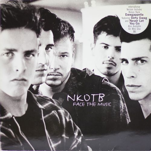 NKOTB : Face The Music 2LP (Käyt)