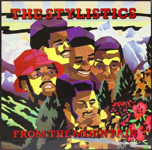 Stylistics: From The Mountain LP Käyt