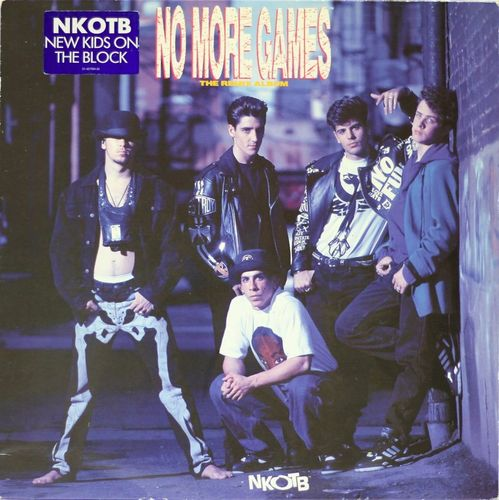 NKOTB : No More Games (The Remix Album) LP (Käyt)