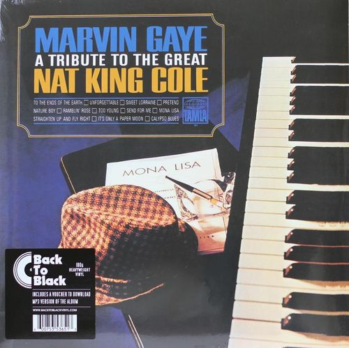 Marvin Gaye : A Tribute to The Great Nat King Cole LP (Uusi)