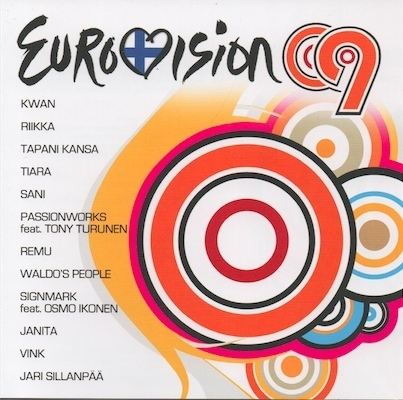 V/A : Eurovision 09 CD (Mint)